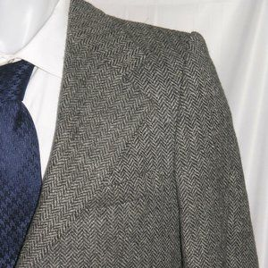 Yves Saint Laurent Vintage Tweed Two Button Blazer